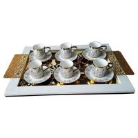 чайный сервиз-gold